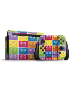 Keroppi Colorful Nintendo Switch Bundle Skin