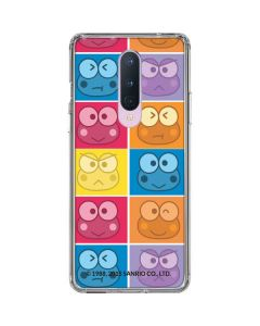 Keroppi Colorful OnePlus 8 Clear Case
