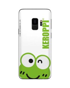 Keroppi Cropped Face Galaxy S9 Skin