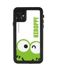 Keroppi Cropped Face iPhone 11 Waterproof Case