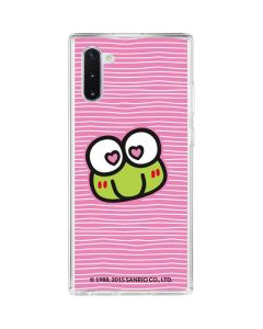 Keroppi Heart Eyes Galaxy Note 10 Clear Case