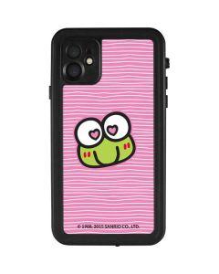 Keroppi Heart Eyes iPhone 11 Waterproof Case
