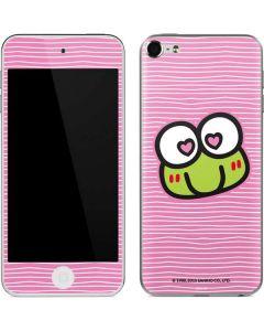 Keroppi Heart Eyes Apple iPod Skin