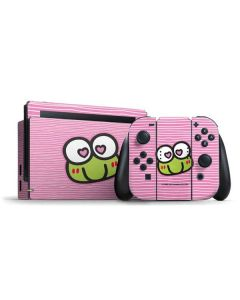 Keroppi Heart Eyes Nintendo Switch Bundle Skin