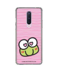 Keroppi Heart Eyes OnePlus 8 Clear Case