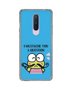 Keroppi I Mustache You A Question OnePlus 8 Clear Case