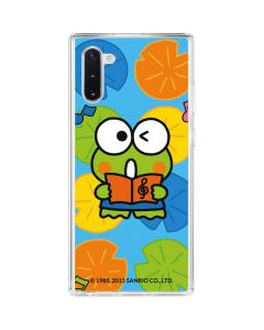 Keroppi Musical Citrus Galaxy Note 10 Clear Case