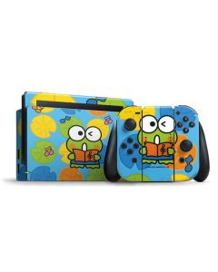 Keroppi Musical Citrus Nintendo Switch Bundle Skin