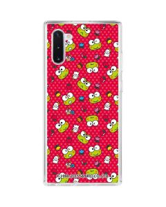 Keroppi Pattern Galaxy Note 10 Clear Case