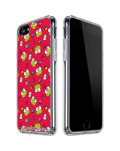 Keroppi Pattern iPhone SE Clear Case