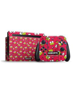 Keroppi Pattern Nintendo Switch Bundle Skin