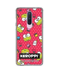 Keroppi Pattern OnePlus 8 Clear Case