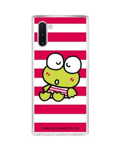 Keroppi Sleepy Galaxy Note 10 Clear Case