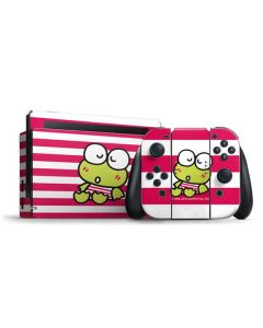 Keroppi Sleepy Nintendo Switch Bundle Skin