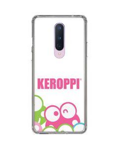 Keroppi Winking Faces OnePlus 8 Clear Case