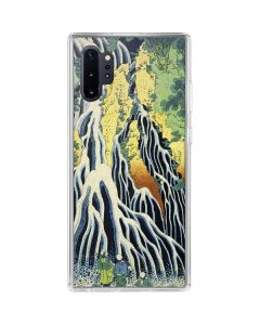 Kirifuri Falls in Kurokawa Mountain Galaxy Note 10 Plus Clear Case