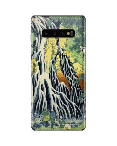 Kirifuri Falls in Kurokawa Mountain Galaxy S10 Plus Skin