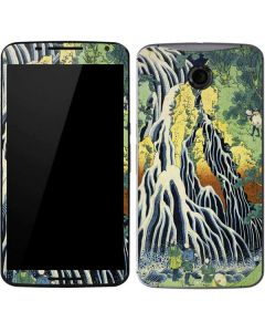 Kirifuri Falls in Kurokawa Mountain Google Nexus 6 Skin