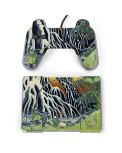 Kirifuri Falls in Kurokawa Mountain PlayStation Classic Bundle Skin