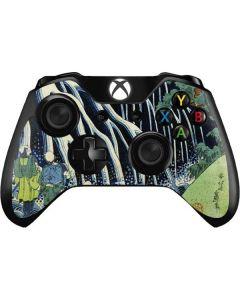 Kirifuri Falls in Kurokawa Mountain Xbox One Controller Skin