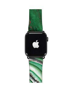 Kiwi Watercolor Geode Apple Watch Band 42-44mm