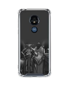 Knights Moto G7 Power Clear Case