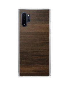Kona Wood Galaxy Note 10 Plus Clear Case