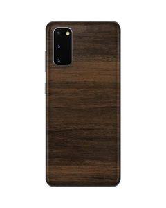 Kona Wood Galaxy S20 Skin