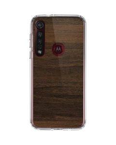 Kona Wood Moto G8 Plus Clear Case