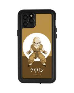 Krillin Monochrome iPhone 11 Pro Max Waterproof Case