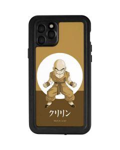 Krillin Monochrome iPhone 11 Pro Waterproof Case