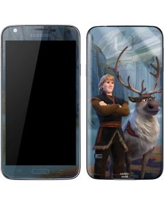 Kristoff and Sven Galaxy S5 Skin