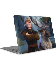 Kristoff and Sven Apple MacBook Air Skin