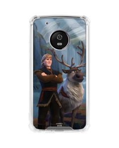 Kristoff and Sven Moto G5 Plus Clear Case
