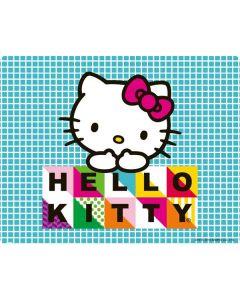Hello Kitty Blue Pattern Apple iPod Skin