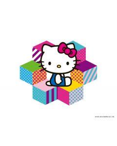 Hello Kitty Color Blocks Apple iPod Skin