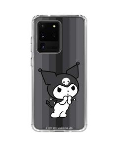 Kuromi Black and White Galaxy S20 Ultra 5G Clear Case