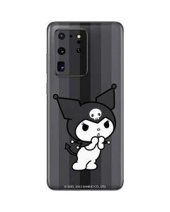 Kuromi Black and White Galaxy S20 Ultra 5G Skin