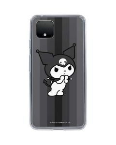 Kuromi Black and White Google Pixel 4 Clear Case