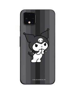 Kuromi Black and White Google Pixel 4 Skin