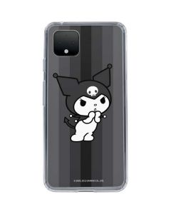 Kuromi Black and White Google Pixel 4 XL Clear Case
