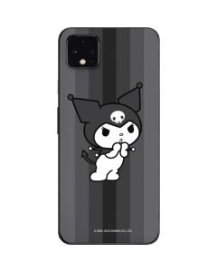 Kuromi Black and White Google Pixel 4 XL Skin