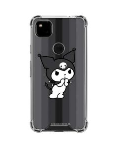 Kuromi Black and White Google Pixel 4a Clear Case