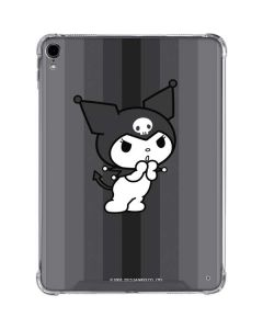 Kuromi Black and White iPad Pro 11in (2018-19) Clear Case
