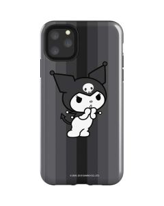 Kuromi Black and White iPhone 11 Pro Max Impact Case