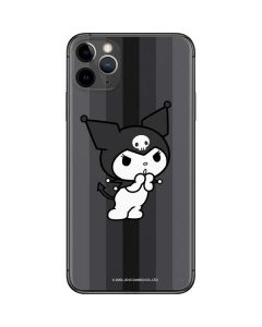 Kuromi Black and White iPhone 11 Pro Max Skin