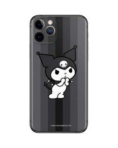 Kuromi Black and White iPhone 11 Pro Skin