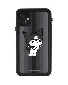 Kuromi Black and White iPhone 11 Waterproof Case
