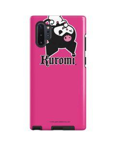Kuromi Bold Print Galaxy Note 10 Plus Pro Case