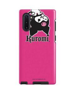 Kuromi Bold Print Galaxy Note 10 Pro Case